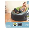 "Inflatable Chair, 44"" X 43"" X 27"", Green"