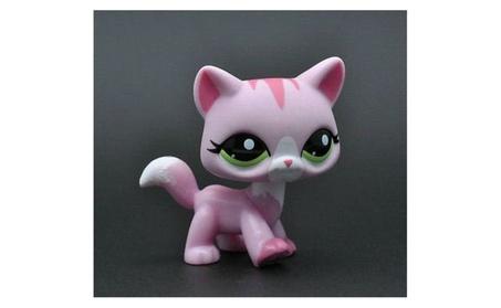 Littlest Pet Shop Pinky Cat Kitty Toy figure loose cute 0bc53b4c-bf36-4a44-b992-74e693e22a2e