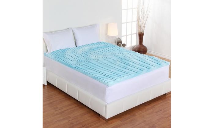 Authentic Comfort 3 Quot 5 Zone Orthopedic Foam Mattress