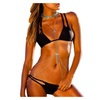 Women's Solid Color Outdoor SportsLow Rise Bikini Sets
