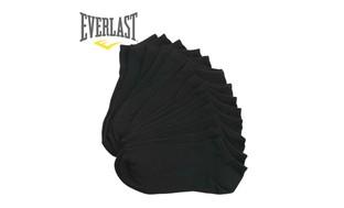 Everlast Men's Low Cut No show Ankle Socks 7, 14 or 21 Packs