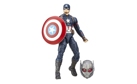 Marvel 6-Inch Legends Series Captain America Figure 26516618-10c1-40c6-be7a-56aec4d3a24c