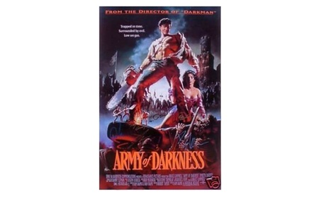 Army of Darkness Autographed Movie Poster 5f35f999-a96f-440a-878f-895222f097a0