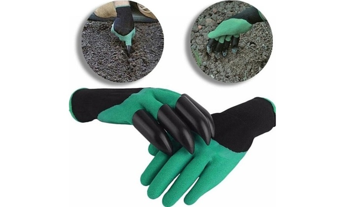 70 off on claw gardening gloves groupon goods for Gardening 4 less groupon
