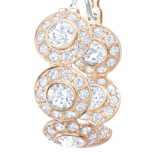 6c64f599d Swarovski Angelic Pierced Hoop Earrings - 5418271   Groupon
