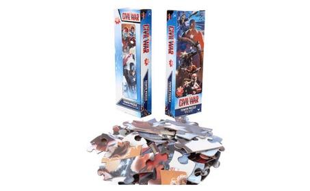 Captain America Civil War 50pc Tower Puzzle 2pk f2f7e7d1-51bd-4878-83ba-a62d985da5cd