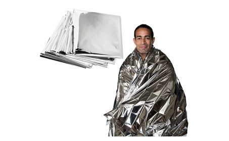 Emergency Blanket Thermal Survival Safety Solar Insulating Mylar Heat f058f73e-b6a9-470c-a4b9-d38058a1c88a