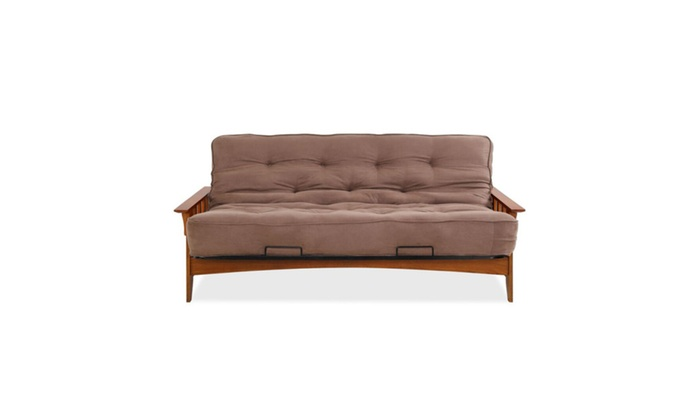 Simmons Seattle Futon Frame With 6 In