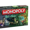 Monopoly Rick & Morty Edition Board Game Adult Swim TV Series USAopoly