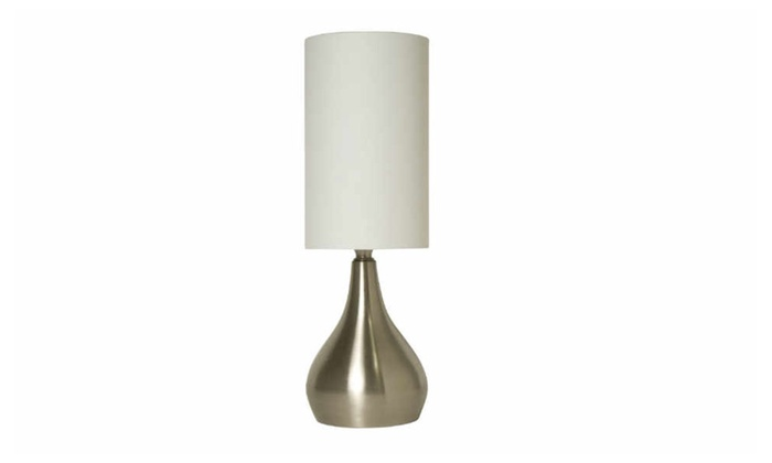Light Accents Modern Table Lamp 18 Quot Tall With Touch Dimmer