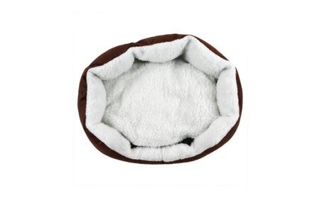 Pet Dog Nest Puppy Cat Cute Soft Bed Fleece Warm House Kennel Beds d588fdad-6577-490f-acd2-9b4311223e6e