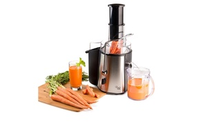 Chef's Star Juicer Wide-Mouth Fruit and Vegetable Juice Extractor