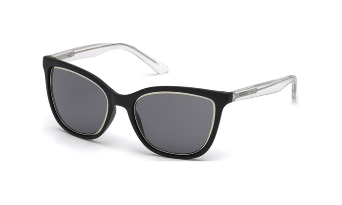 Guess GU7466 02A Matte Black Frame / Grey Lenses