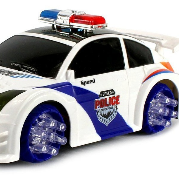 Vt Sd Police Nissan 350z Battery Op Kid S P And Go Toy Car Colors Vary