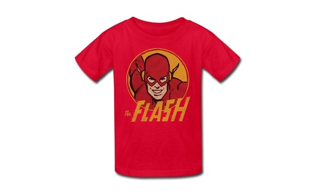 DC Comics Flash Circle Little Boys Shirt d46d5289-53e5-43b6-a1ab-a2b3e9726399
