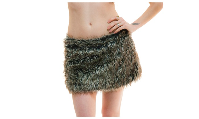 Furry adjustable Skirts