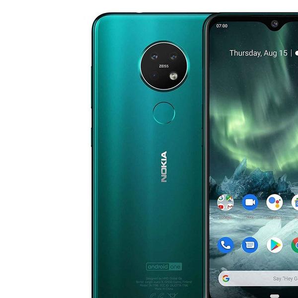 Nokia 7 2 Ta 1196 128gb 6 3 Ips Lcd Triple Camera Gsm Factory Unlocked Phone Groupon