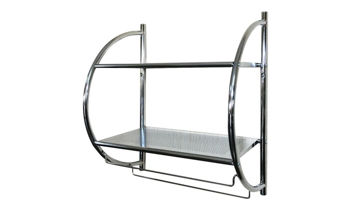 Up To 38% Off on 2 Tier Wall Mount Shower Orga... | Groupon Goods