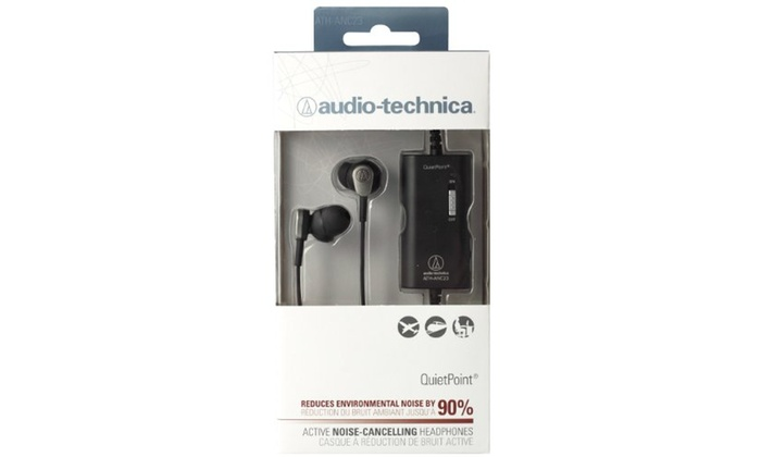 d3922c273e5 Up To 43% Off on Audio-Technica ATH-ANC23 Quie... | Groupon Goods