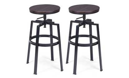 Cool Viscologic Ritzy 24 To 33 Inch Height Adjustable Tufted Bar Ibusinesslaw Wood Chair Design Ideas Ibusinesslaworg