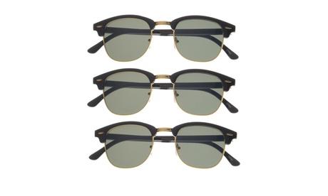 Tortoise Retro Half Frame Horn Rimmed Glasses (Set of 3) e391ea39-6332-4335-8bbf-706c430a28de