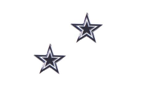Dallas Cowboys Post Stud Logo Earring Set NFL Charm f0816743-1a09-414c-ba77-f3e6c613a4b1