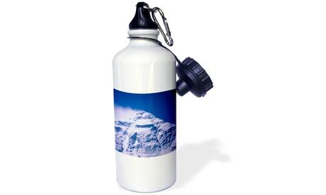 Water Bottle Snowy Summit of Mt. Everest, Tibet, ChinaAS42 DBR0072 photo