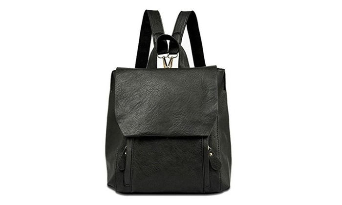 Moolee Leather Shoulder Bag Casual Travel Daypack Korean Drama Pinocchio Backpack