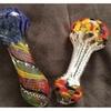 "5"" Frit Smoking Pipe with Beautiful Art Designs"