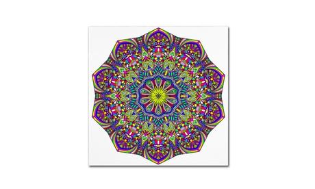 Kathy G. Ahrens 'Pretty Pieces Mandala' Canvas Art e8ec8a75-1b60-42aa-8e99-d68f1ad42bed