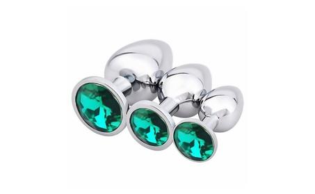 3pcs Anal Plug Luxury Jewelry Design Stainless Steel B-Plug ee584052-a810-485e-b29a-c73a5e8dbf86