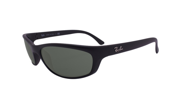 cf94034323 Ray Ban active lifestyle rb4115 601s71 57 matte black   green classic