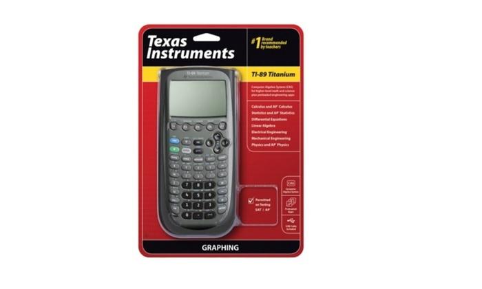 Moderne Texas Instruments TI-89 Titanium Graphing Calculator   Groupon YQ-55