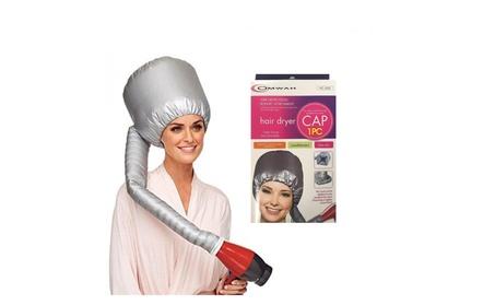Portable Soft Hair Care Blow Dryer Attachment Drying Cap Bonnet Hat 144c5aa4-db0a-4b5d-b347-cbcd979e2bd5