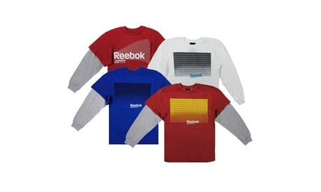 Reebok Boy's ZigTech Flow Longsleeve Shirt 9be2e09e-9a05-4168-8451-50f40c495521