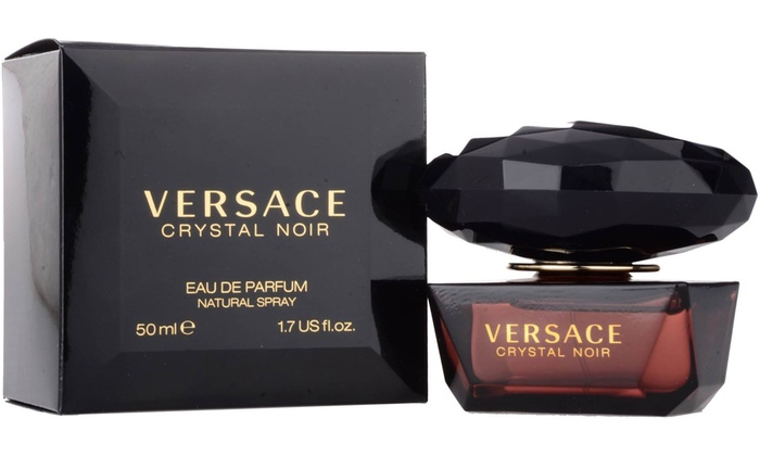 Up To 40 Off On Versace Crystal Noir 17 Oz 5 Groupon Goods