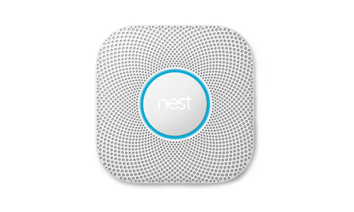 Nest Protect® Wired Smoke and Carbon Monoxide Alarm - White