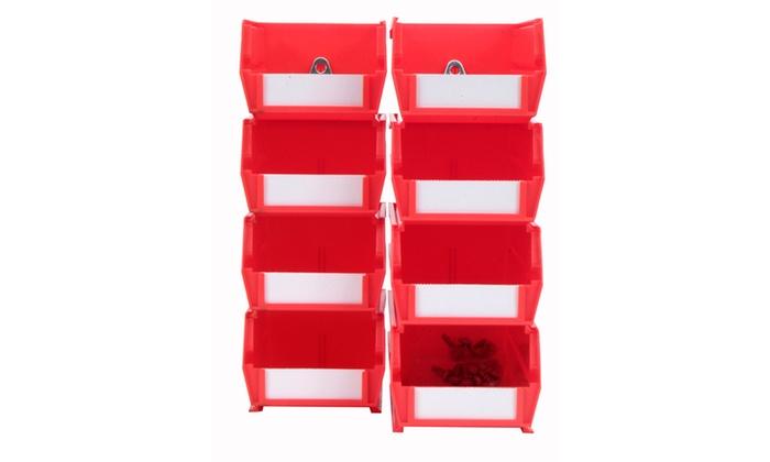 Small/Medium Red BinKits 8 CT