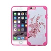 Insten Spring Flowers Hard Case For Iphone 6 Plus 6s Plus Pink White