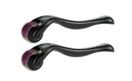 2pc Microneedle Derma Roller Micro Needle Therapy Skin Roller f3e46783-80e5-45d7-a2b9-d6a83b0ba2f4