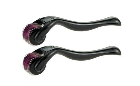 2pc Microneedle Derma Roller Micro Needle Therapy Skin Roller 3f7e8891-5f8e-48c2-94f9-ad8a841f9e4f