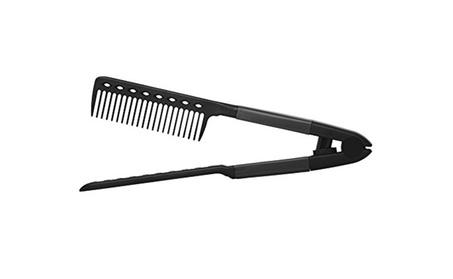 New Salon-Grade V Shaped Easy Hair Straightening Comb 1b4c5ffa-a7ed-49b0-bcaa-549ac642f635