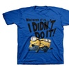 Licensed Despicable Me Youth I Didn't Do It Minions Scoop Neck T Shirt