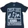 Jimi Hendrix T-Shirt Concert Tee May 30 1970 Graphic