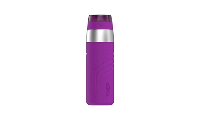 Thermos 20oz Purple Vacuum Insulated Stainless Steel Sporty Bottle