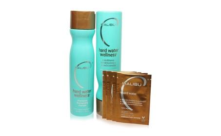 Malibu Hard Water Wellness Treatment Kit, 9 oz Shampoo, 9 oz Condition ac4a81f7-ab8f-42ae-831b-ede8933d04af
