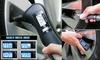 3-in-1 Car Air Pressure Gauge, Light, & Emergency Escape Multitool