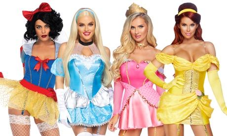 Leg Avenue Women's Sexy Storybook Fairytale Princess Costumes