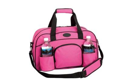 Gym Bag Yoga Bag Carry On Luggage Pink Tote Bag Sports Duffle Bag Work