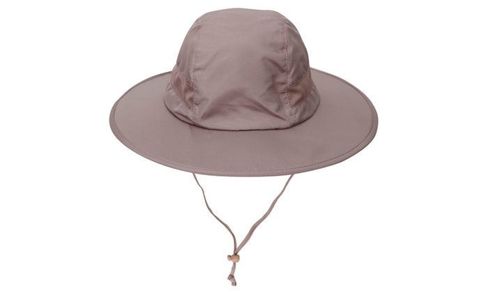 Men / Women SPF 50+ UV Protection Safari Sun Hat w/ Adjustable Straps